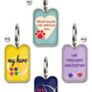 "Buy The ""We Rescued Each Other"" Blanket ID Tag To Benefit Much Love!"