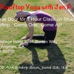 Get Your Downward Dog On To Benefit Much Love!