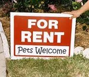 Looking for a new rental apartment or home that accepts pets?