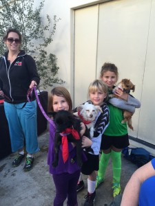Willis, Poppy, Mallory and kids